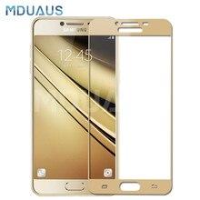 9D Vetro di Protezione Per Per Samsung Galaxy A3 A5 A7 J3 J5 J7 2016 2017 S7 Temperato Protezione Dello Schermo pellicola di vetro Caso