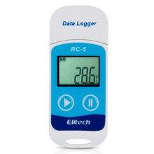 Синий цвет Mini USB температура сенсорный регистратор данных Термометры USB температура самописец температура регистраторы Termometro