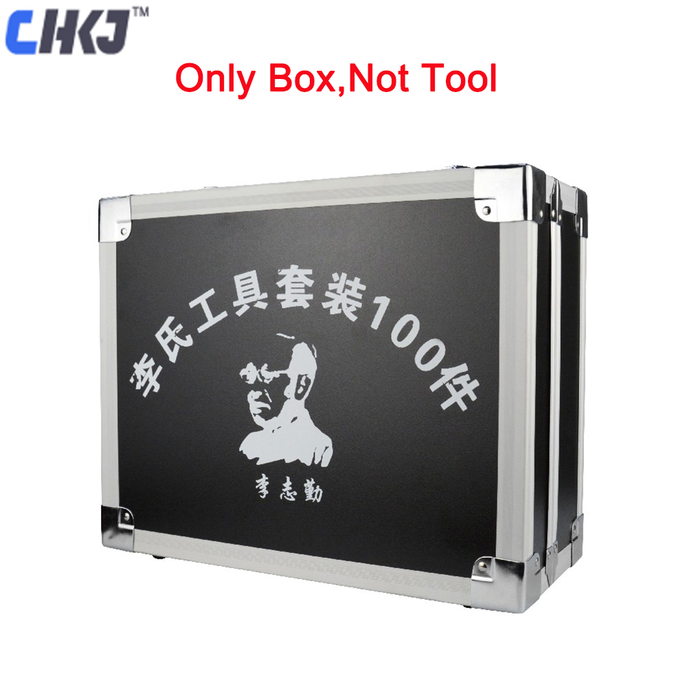 CHKJ 1PC High Quality Original Lishi 2 in 1 Tool Repair Tool Black Box Storage Case