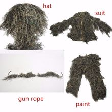 Camouflage Hunting Ghillie Suit 3 Colors