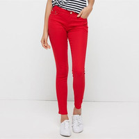 New Women Pants 2017 Hot Selling Brief Style Trousers Solid Candy Colores Plus Size Slim Fit
