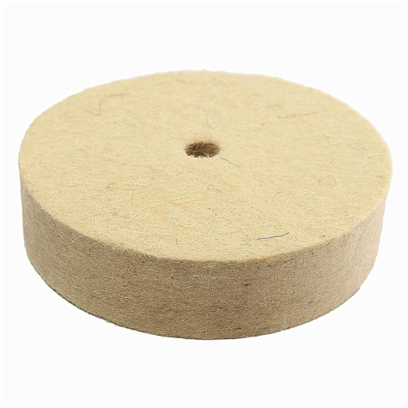 1pc 4inch Polishing Buffing Grinding Wheel Wool Felt Polisher Disc Pad 100mmx20mm Polisher Pads 4 Inch Various Styles Hand & Power Tool Accessories