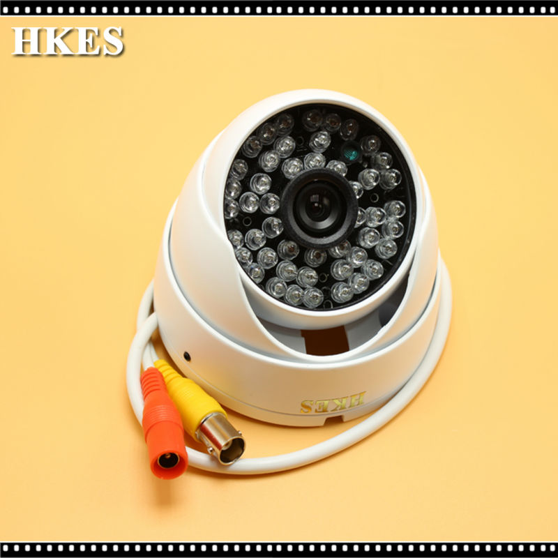 HKES New AHD Camera 720P/960P/1080P CCTV Security Dome Camera HD 1MP/1.3MP/2.0MP Nightvision Outdoor Camera IR Cut Filter 1080P