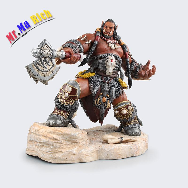 Game Wow Frostwolf Clan Durotan 1/6 Scale Painted 22cm Action Figure Pvc Acgn Model Colletible Toys For Adult Gifts Dolls 20cm anime life no game no life shiro game of life painted second generation game of life 1 7 scale pvc action figure model