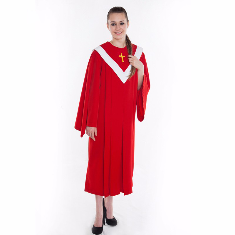 Vatican Jerusalem USA And European Style Catholicismus Choir Robe Christian Church Worship Cleric Suits Gown Catholic  Robe