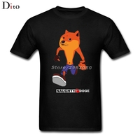 Crash Bandicoot Shiba Inu T Shirt Men Tailored Custom Short Sleeve Boyfriend S 3XL Men S