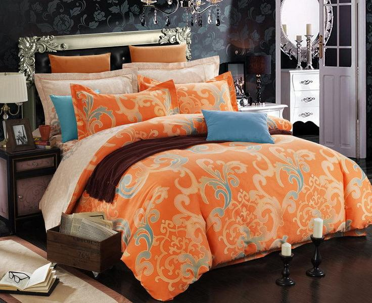 Related Keywords Amp Suggestions For Orange Queen Bed Covers