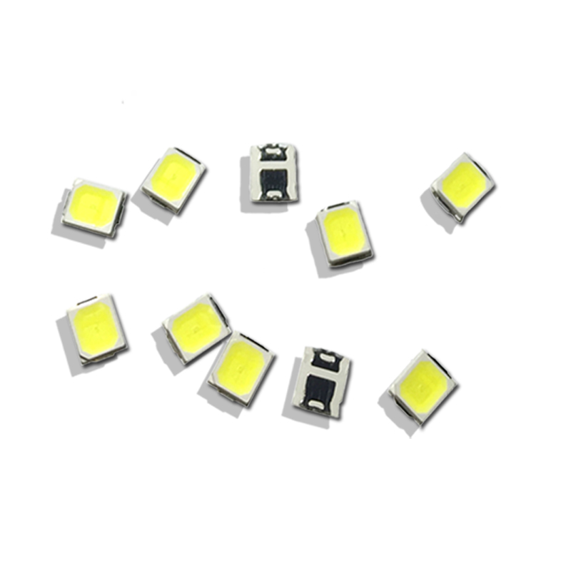 100pcs/lot LED Lamp Beads Nature White / Warm White / Cool White SMD 2835 0.5W 55-60LM Super Highlight Light-emitting Diode