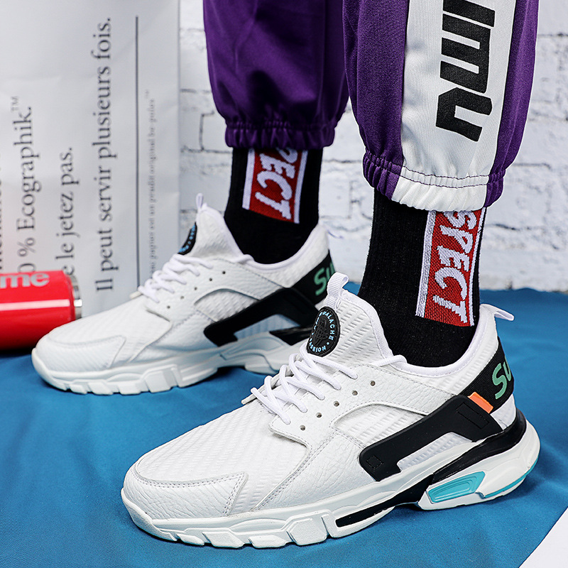 Summer New style Leisure sneakers Mens thick-soled breathable shoesSummer New style Leisure sneakers Mens thick-soled breathable shoes