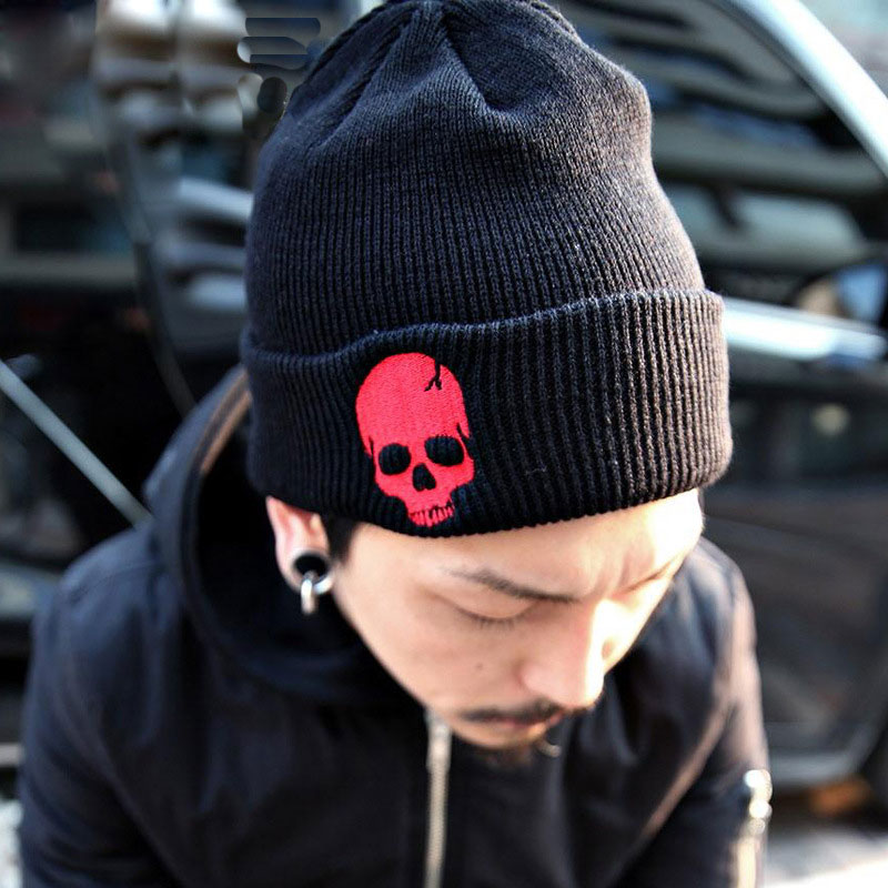 2016 Skull Beanies Men's Winter Hats Winter Knitted Hat Caps Brand Bonnet Outdoor Ski Skullies Warm Cap Beanie For Men And Women brand winter beanies men knitted hat winter hats for men warm bonnet skullies caps skull mask wool gorros beanie 2017