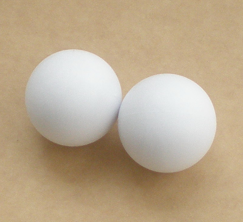 Free Shipping 10pcs/lot NEW 36mm Pure White Foosball Table Soccer Table Ball Football Balls Baby Foot Fussball