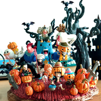 Anime Luffy Solon Choba Roronoa Zoro Action Figure Models New World Halloween One Piece Supernova Puppets Toy Decoration