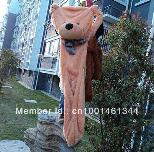 80-180 Cm Teddybeer Pluchen Speelgoed Zachte Buitenste Huid En Beer Jas Vakantie Verjaardagscadeau Valentijn Brinquedos knuffels