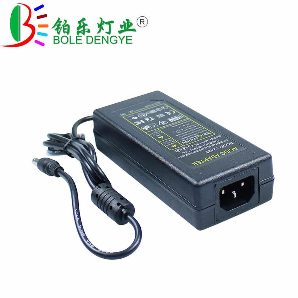 التيار المتناوب 100/240 فولت إلى تيار مستمر 5 فولت 12 فولت 24 فولت LED امدادات الطاقة 1A 2A 3A 5A 6A 8A 10A محول الإضاءة لشريط LED كاميرا تلفزيونات الدوائر المغلقة الأمن