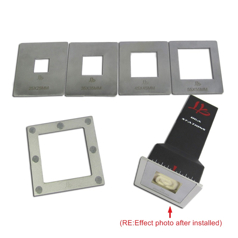LY IR Universal Mate Reflector IR Cover Upper Heater Reflectors Set For Infrared BGA Rework Station