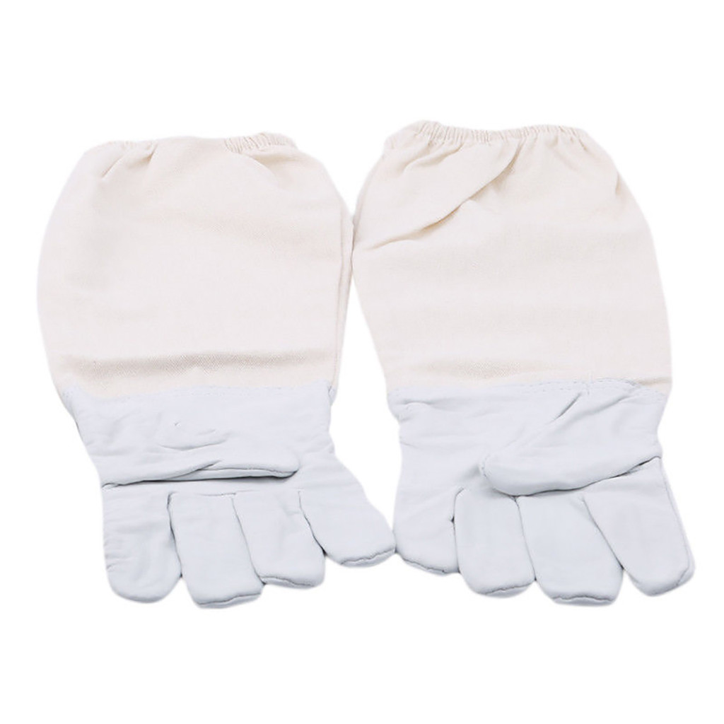 Image 5 - 2019 can't miss recommended Beekeeping Gloves Goatskin Bee Keeping with Vented Beekeeper Long Sleeves beekeeping supplies-in Protective Clothing Accessories from Home & Garden