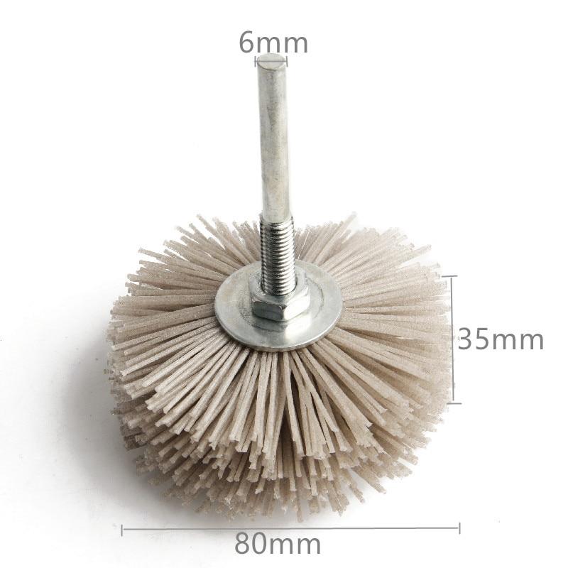 Testa abrasiva 80 * 35 * 6mm per intaglio del legno Mobili in mogano - Utensili abrasivi - Fotografia 3