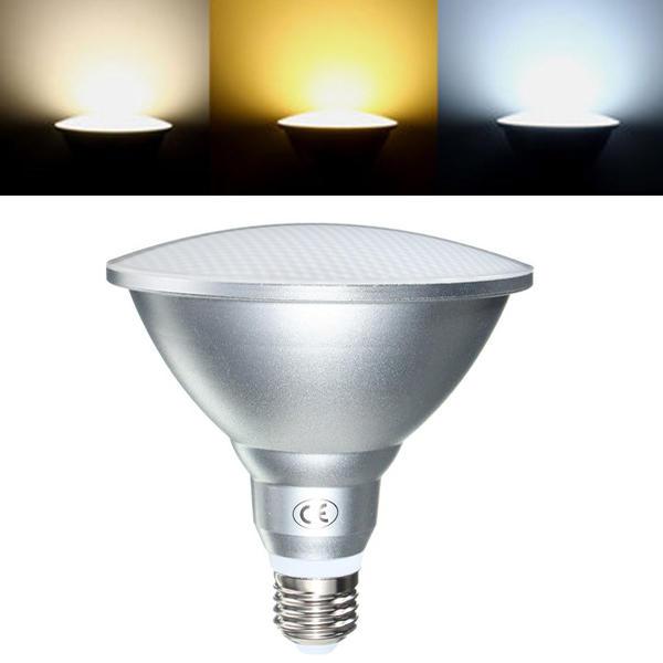 Super lumineux E26/E27 9 W/12 W/18 W PAR20 PAR30 PAR38 étanche IP65 projecteur LED avec variateur ampoule lampe éclairage intérieur AC85-265V