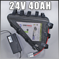 24v ebike комплект литий-ионных батарей 24V 40AH треугольник Электрический велосипед батарея бесплатная ЕС США таможенные налоги