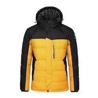 Мужское зимнее молодежное хлопковое пальто, утолщенное пуховое пальто больших размеров, куртка с холодной защитой, сохраняющая тепло, спор...