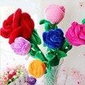30 cm brinquedos de pelúcia multicolor flor rosa vermelho azul amarelo rosa orange presente dos desenhos animados presente de casamento decoração de casa