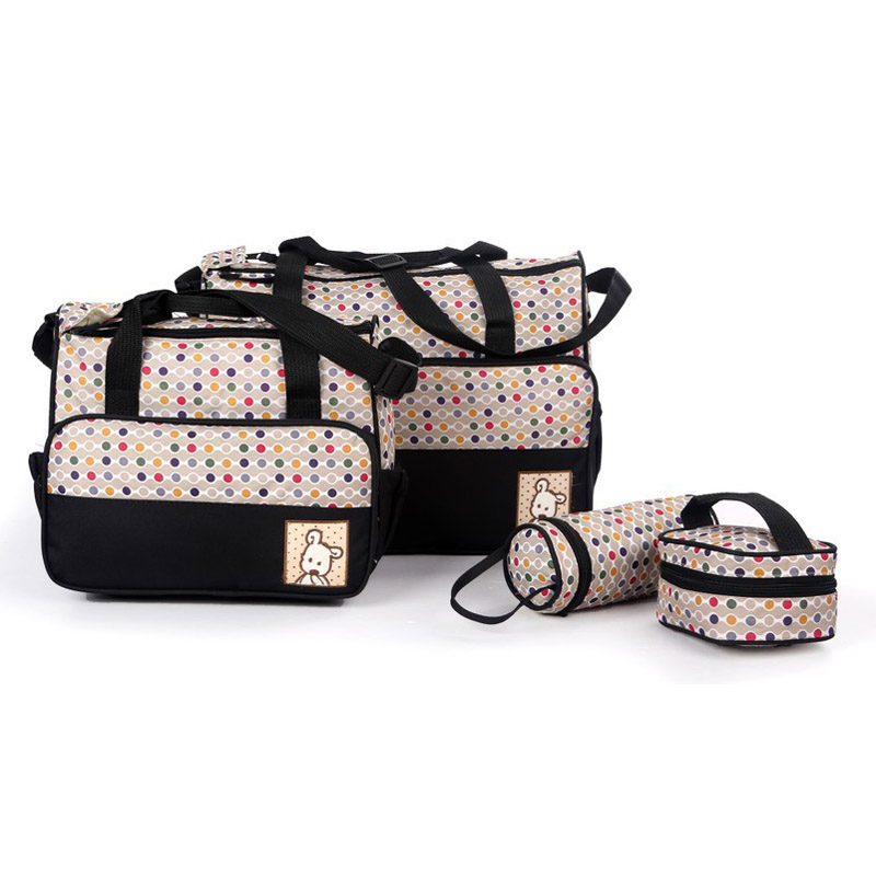 Multifunctional 4 Pieces Diapers Bag Mother Mom Bags For Nappies Mama Bebe Bolsa Maternidade Fashion Maternity Bag For Diapers