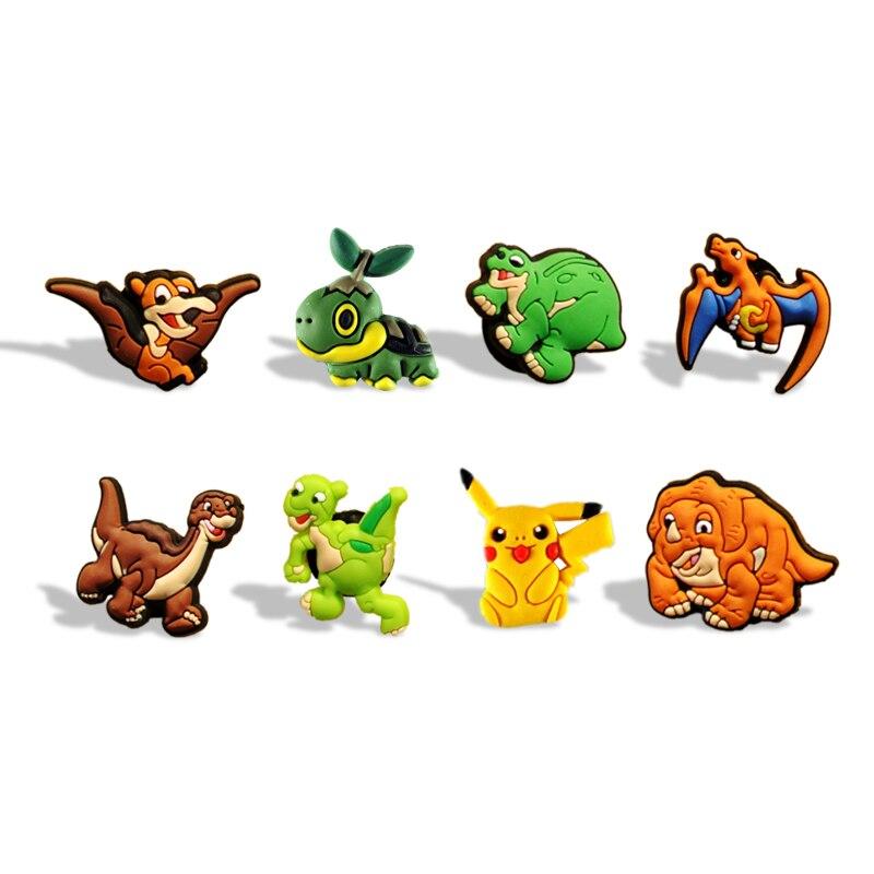 Creatief 80 Stks Pikachu Hot Game Mode Pvc Cartoon Koelkast Magnetische Stok Schoolbord Magneten Stickers Voor Kantoor Kids Party Gift