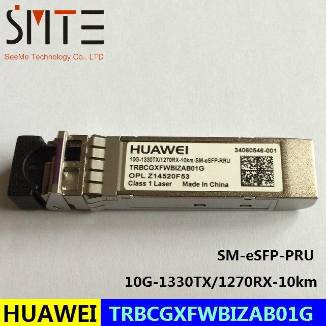 HW TRBCGXFWBIZAB01G 10G-1330TX/1270RX-10km-SM-eSFP-PRU OPL Z14520F53 fiber optical transceiverHW TRBCGXFWBIZAB01G 10G-1330TX/1270RX-10km-SM-eSFP-PRU OPL Z14520F53 fiber optical transceiver