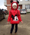 New girls winter coat. Girls fashion Coat & Jacket, children winter & spring clothes girls Cotton Warm Jacket,