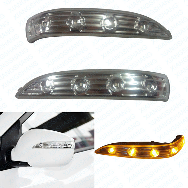2PCS Side Mirror LED Lamp Car Rearview Mirror Turn Signal light for Hyundai IX35 2009 2010 2011 2013 2014 2015