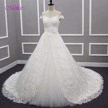 fsuzwel Melice Romantic A-Line Wedding Dresses 2018