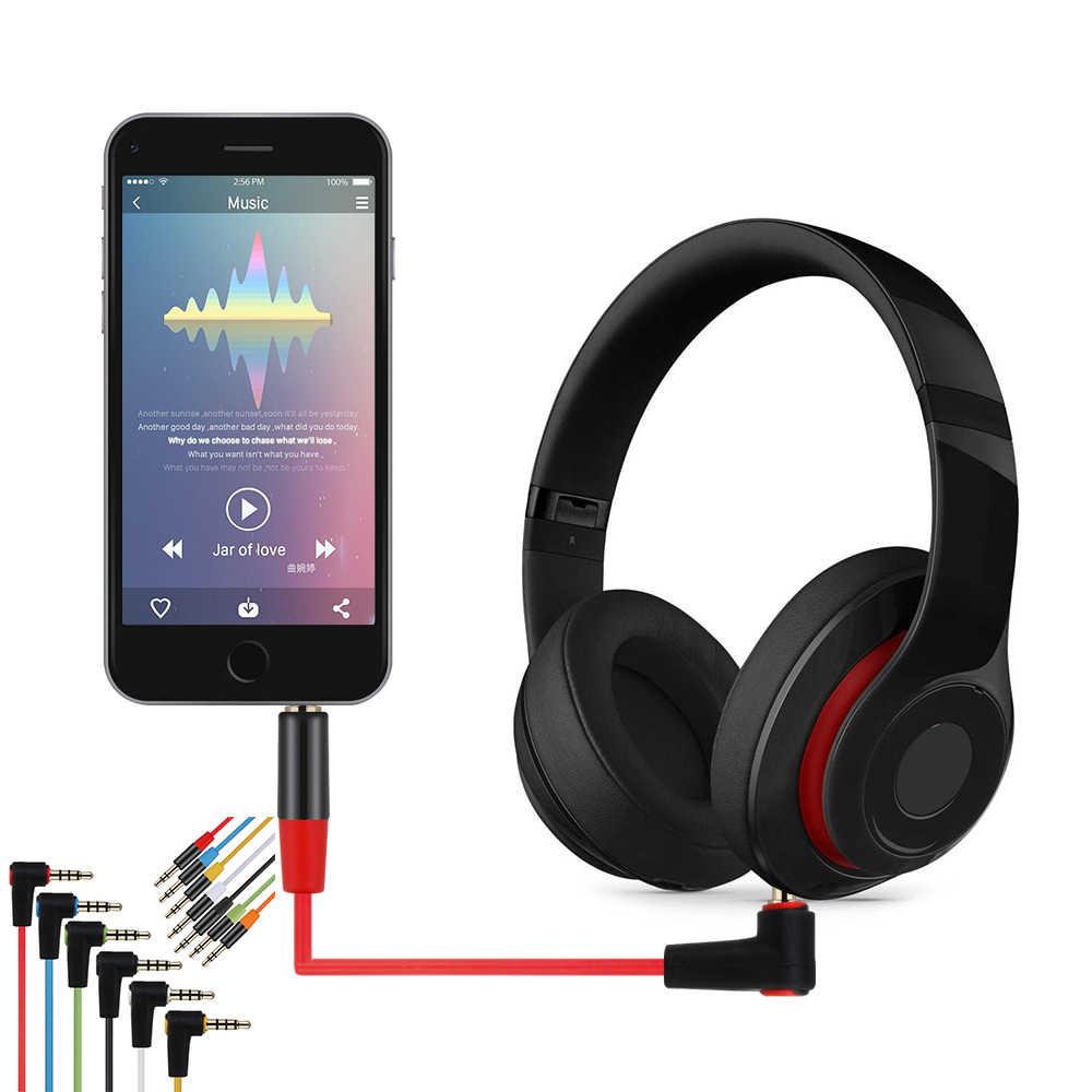 1 шт. Замена L Тип аудио 3,5 мм AUX свинцовый провод, кабель 90 градусов плетение шнур forBeats от Dr. Dre автомобильные аксессуары