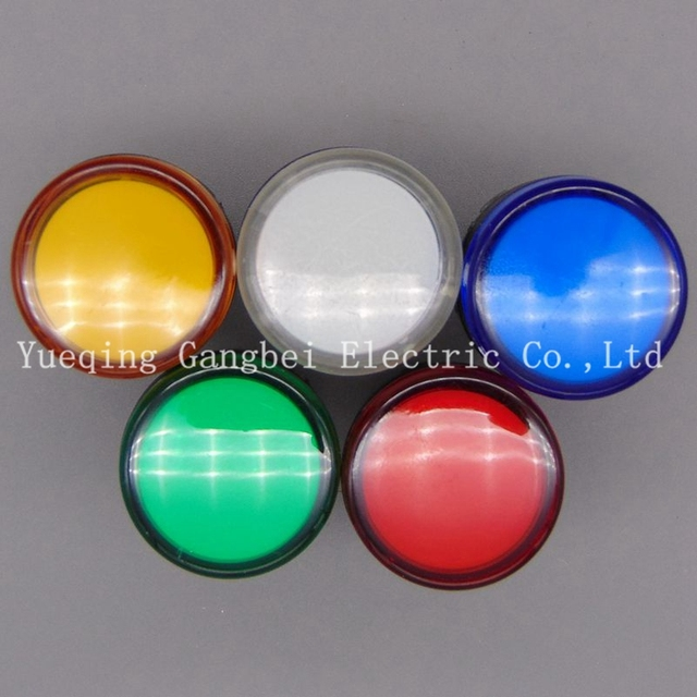 Indicator AD16-22DS LED signal lamp  Red/Green/Huang/Blue/White Indicator Lights