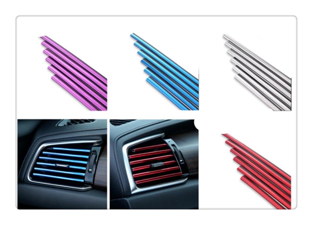 Auto parts air conditioner socket clip decorative strip for Mercedes Benz W211 W203 W204 W210 W124 AMG W202 CLA W212