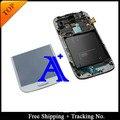 Испытание 100% Super AMOLED Для Samsung Galaxy S4 i337 ЖК-M919 ЖК-Экран Digitizer Ассамблея рамка-Темно-Синий/белый