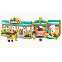 BELA 10169 Friends Heartlake Vet City Animals Building Blocks Brick Compatible LegoIN Technic 3188 Playmobil Toys For Children