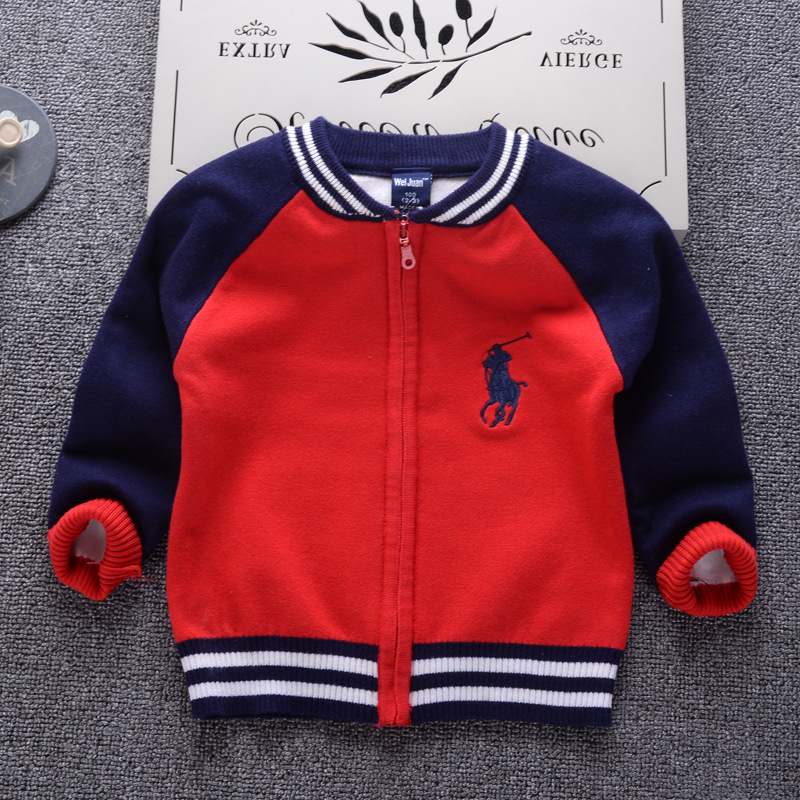 Cardigan Sweater For Boys 2018 Casual Fashion Cardigan Infantil Children's Clothing Long Sleeve Girls Zipper Pullover Baby Tops fashion long sleeve solid color pockets cardigan for women