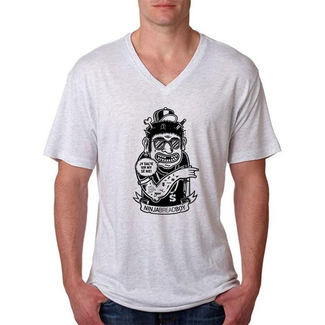 Diseño de dibujos animados populares hombre camisetas