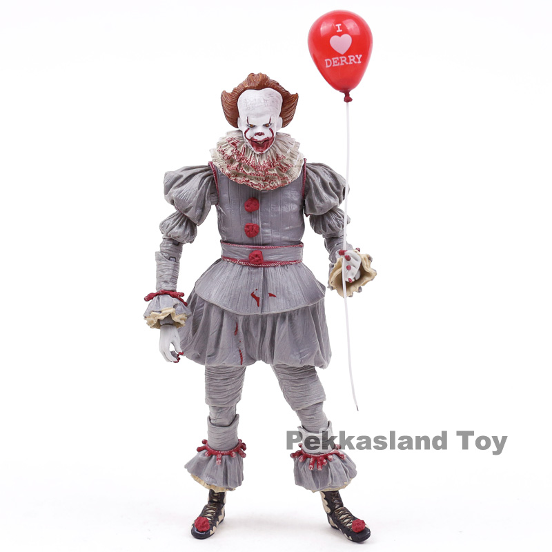 Image 2 - NECA Stephen Kings It Pennywise PVC Action Figure Collectible Model ToyAction & Toy Figures   -