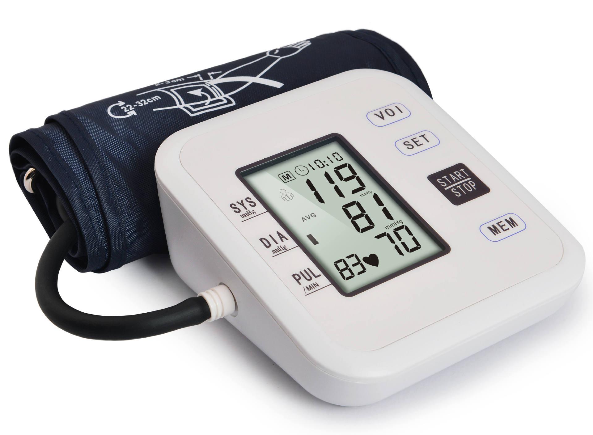 Электронный бытовой медицинский наручный браслет умный сфигмоманометр