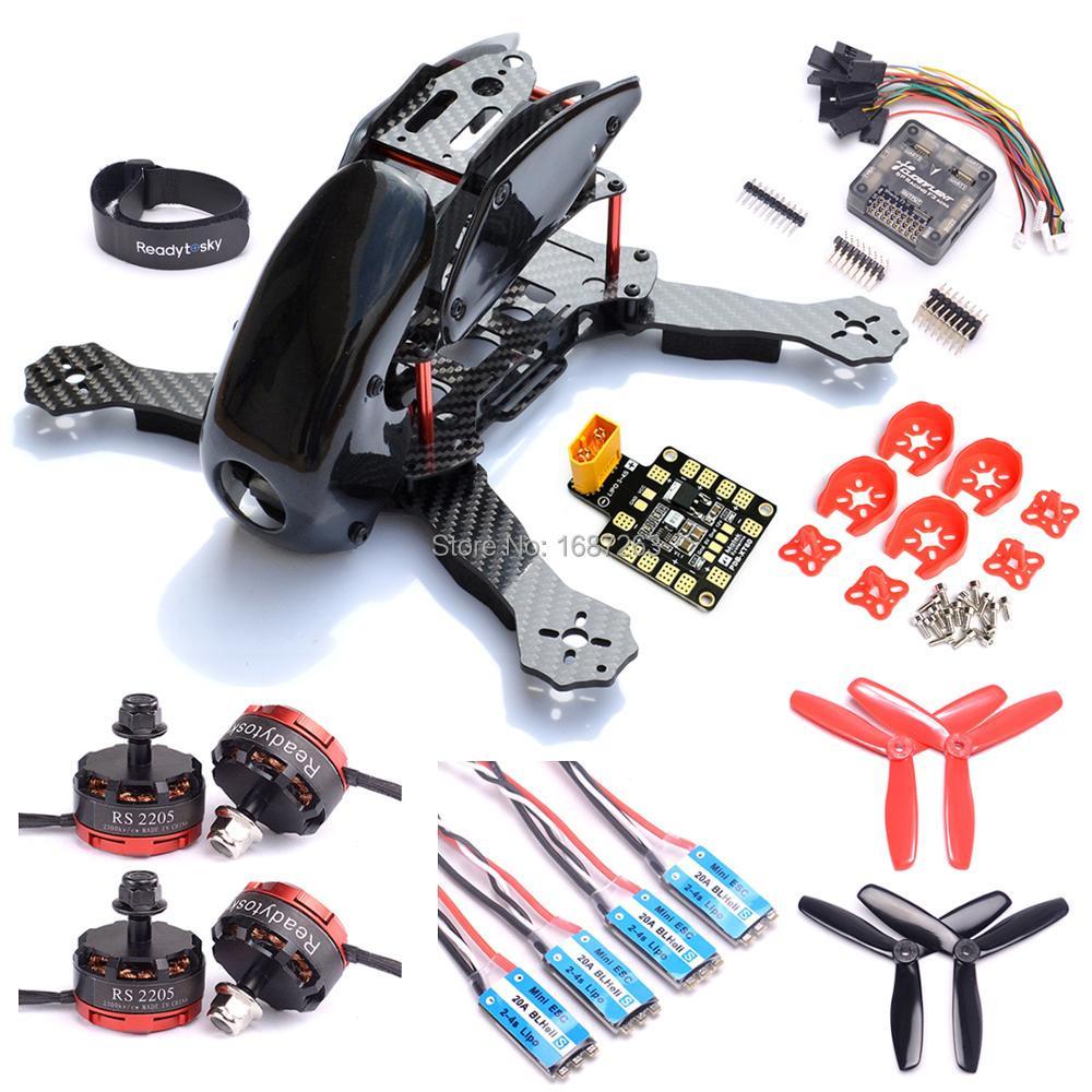 Robocat 270 270mm Carbon Fiber Quadcopter Frame Naze32 Rev6 F3 RS2205 2300kv Brushless Motor Mini BLHeli