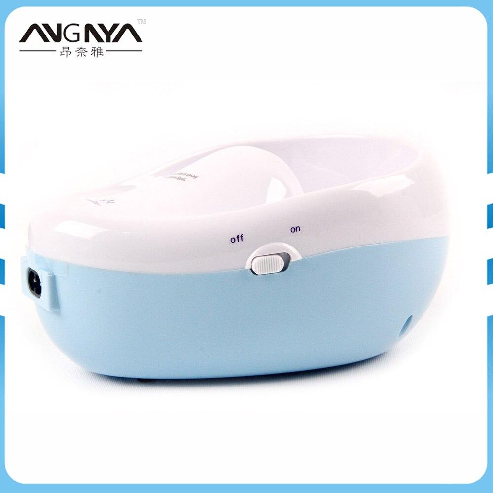Bleu minuscule Salon Spa vernis à ongles Gel enlèvement sept couleurs LED radiation manucure dissolvant Art beauté épilation main doigt 2 W