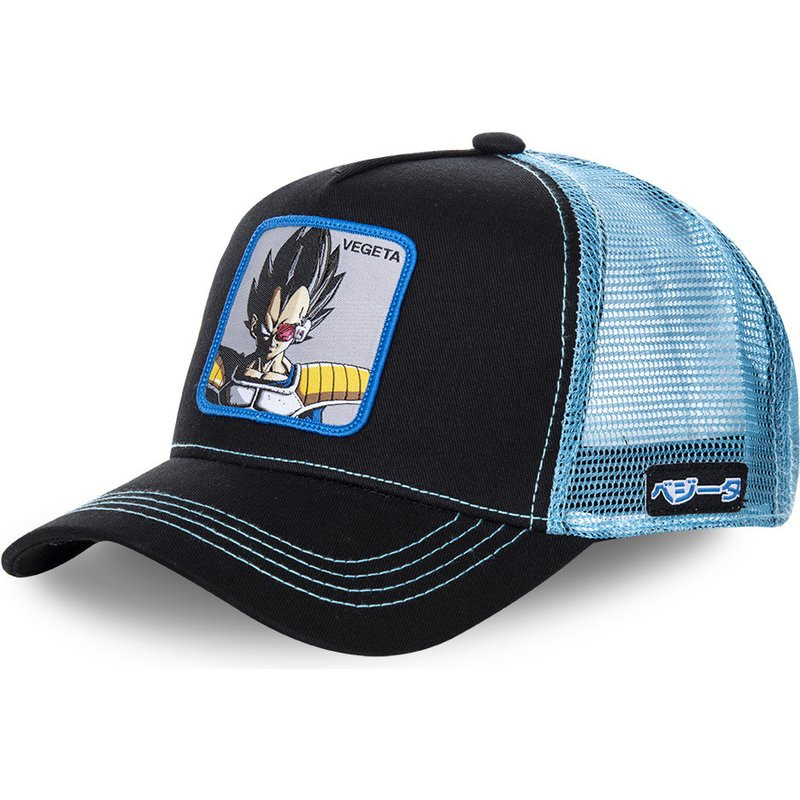 New Brand VEGETA Dragon Ball Snapback   Cap   Cotton   Baseball     Cap   Men Women Hip Hop Dad Mesh Hat Trucker Mesh Hat Dropshipping