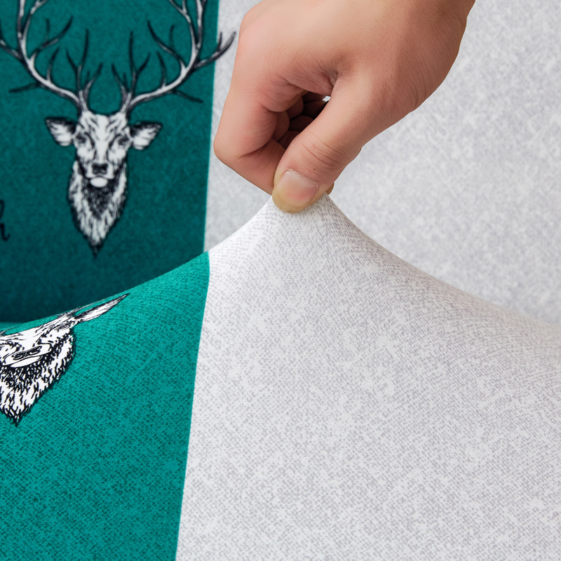 Image 3 - Parkshin Fashion Deer All inclusive Folding Sofa Bed Cover Tight Wrap Sofa Couch Cover Without Armrest housse de canap cubre-in Sofa Cover from Home & Garden