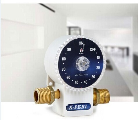 Gas Timer for Elderly and Children, Auto Shut Off Timed Gas