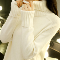 Kpop Soft Knitting Sweater And Pullover For Women 2018 Fall Winter Turtleneck Tops Mujer Knitwear Female Jumper Knitted Femme