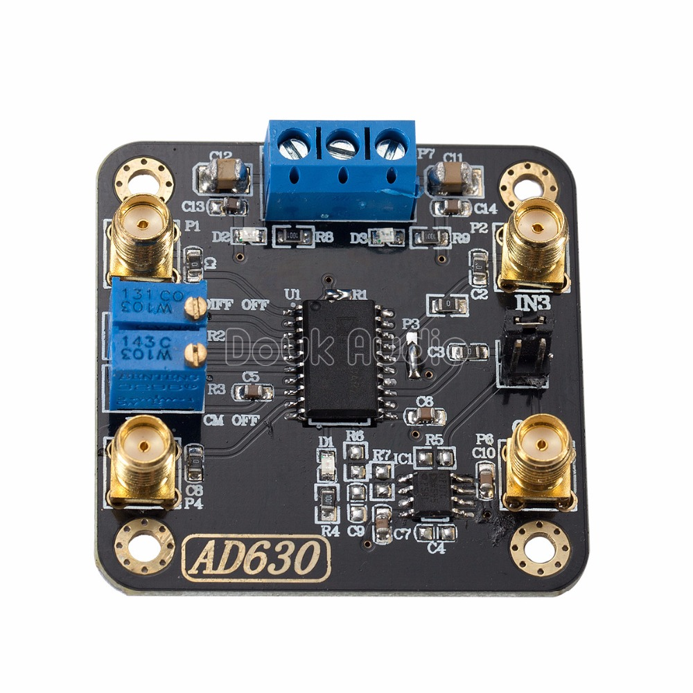 US $52 7 15% OFF|AD630 Balanced Modulator Phase Locked Amplifier Module For  Weak Signal Detection-in Circuits from Consumer Electronics on