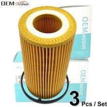 Набор из 3, 06D115562 Масляный фильтр для Audi A6 (C6) TT (8J9) SEAT Altea (5P8) Skoda Octavia (1Z3) VW Eos (1F8) Touran (1T2) Beetle