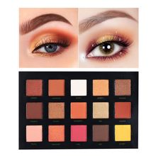 BEAUTY GLAZED Glitters Shimmer Matte Eyeshadow Palette Makeup Sunset Eye Shadow Palette Highlighter Palette makeup eyeshadow set