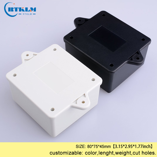 Wall Mounting Plastic Enclosure Electric Junction Box Diy Instrument Case Abs Project Small